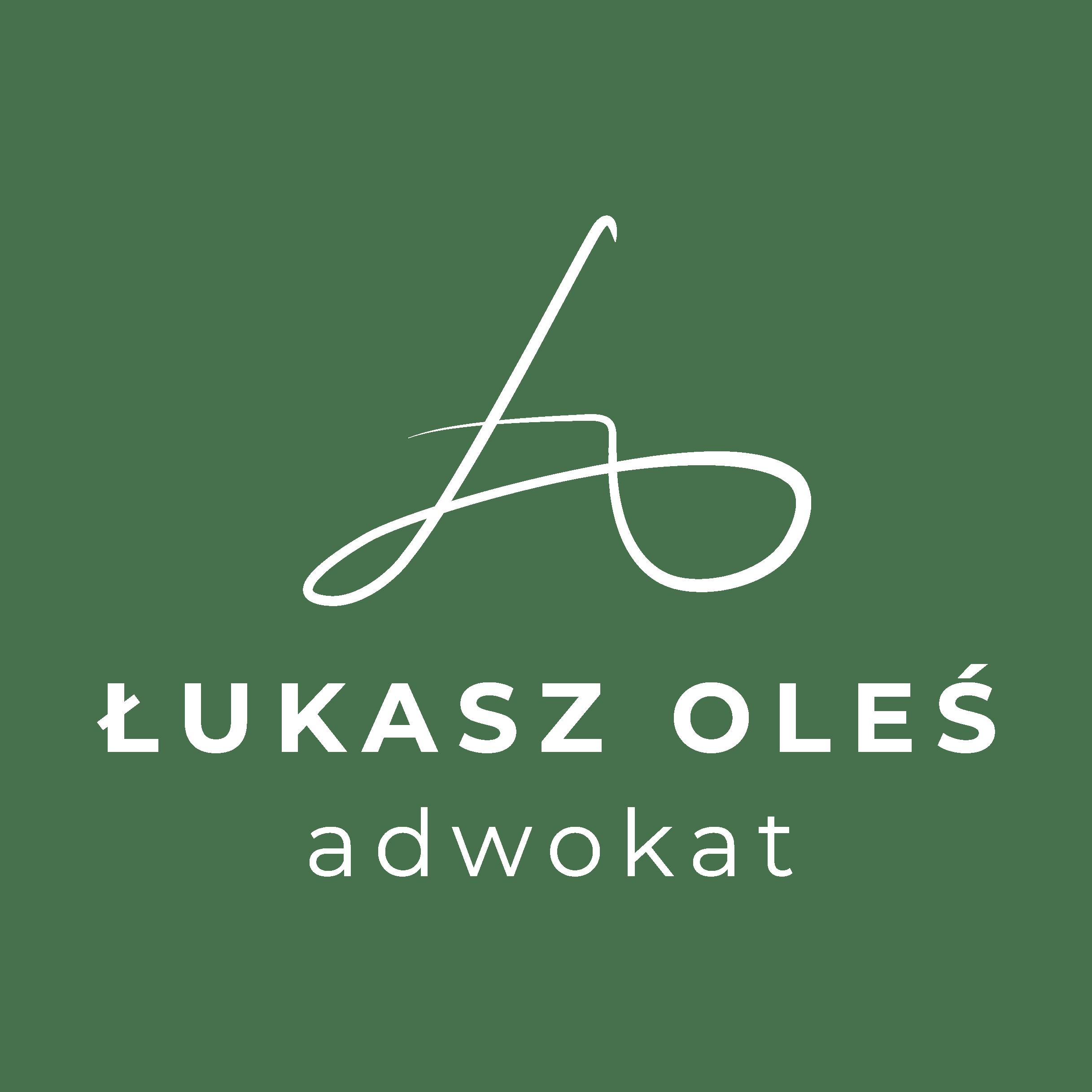 Adwokat Łukasz Oleś